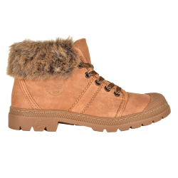 BOOTS FEMME AUTHENTIQUE/F F4F - CAMEL