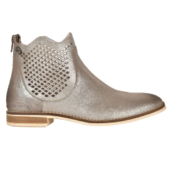 BOOTS FEMME MAEVA F2F - ARGENT