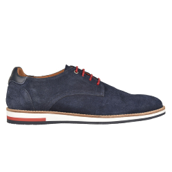 DERBIES HOMME WILLIAM H2F - MARINE