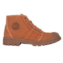 BOOTS FEMME AUTHENTIQUE RECYCLÉE F2F - ORANGE
