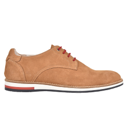 DERBIES HOMME WILLIAM H2F - TABAC
