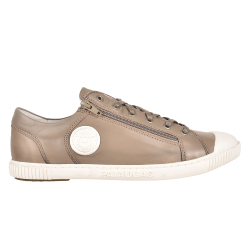 SNEAKER HOMME BUMP/N H2E - TAUPE